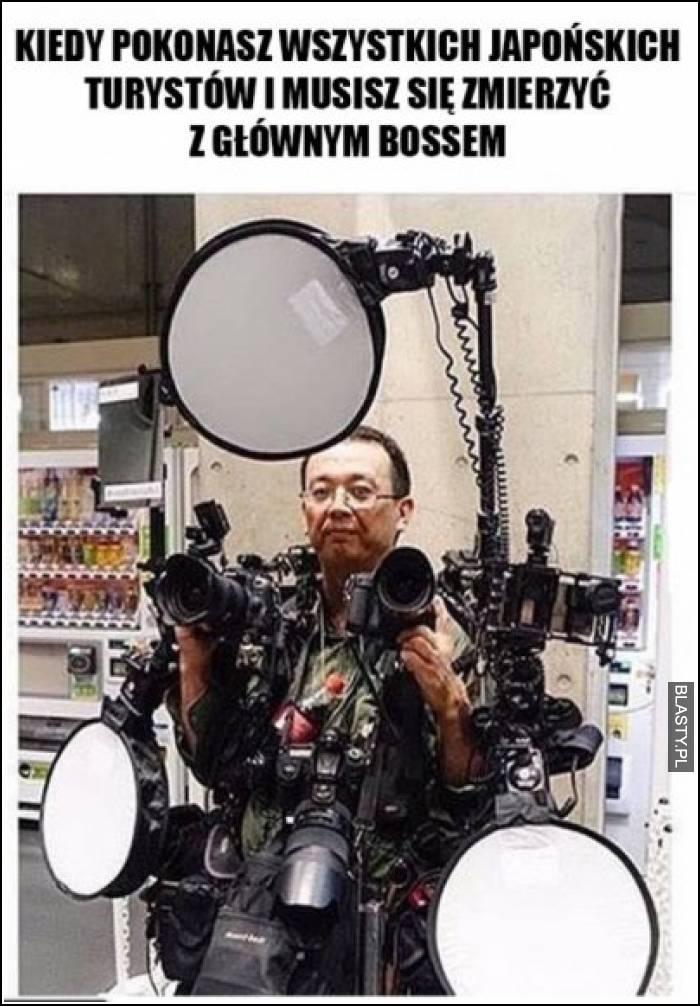 Kiedy pokonasz wszystkich japońskich turystów i musisz zmierzyć się z głównym bossem
