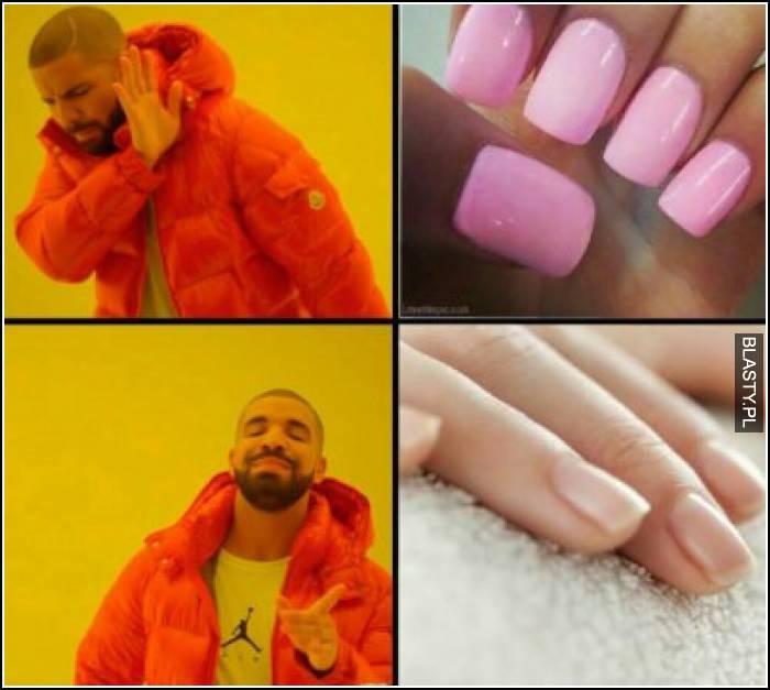 Paznokcie u kobiet