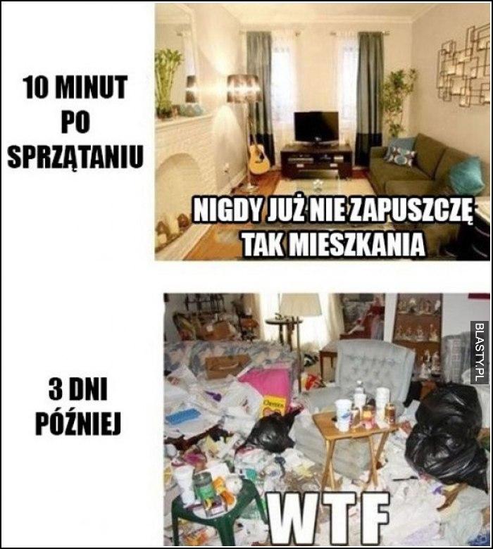 sprzątanie mieszkania takie jest