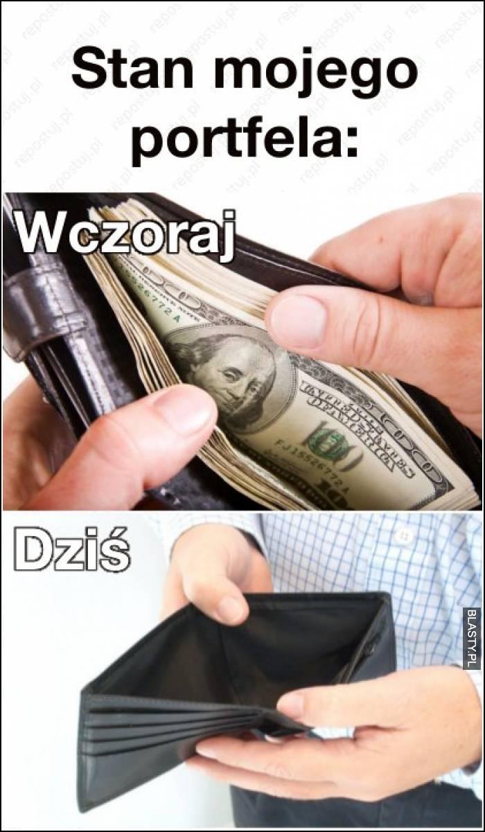 stan mojego portfela