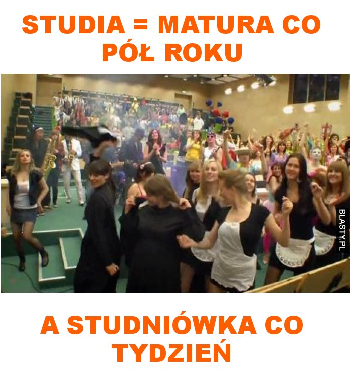 studia to matura co pół roku