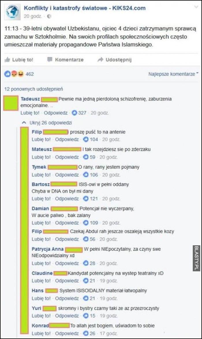 39 letni obywatel uzbekistanu