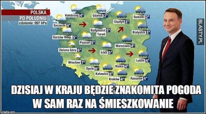 Dzisiaj w kraju będzie znakomita pogoda