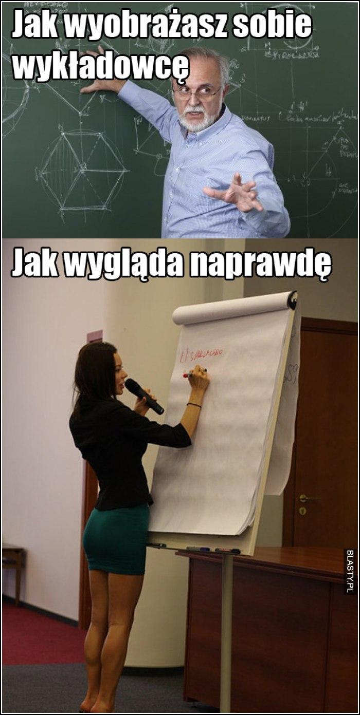 Jak wyobrażasz sobie wykładowce
