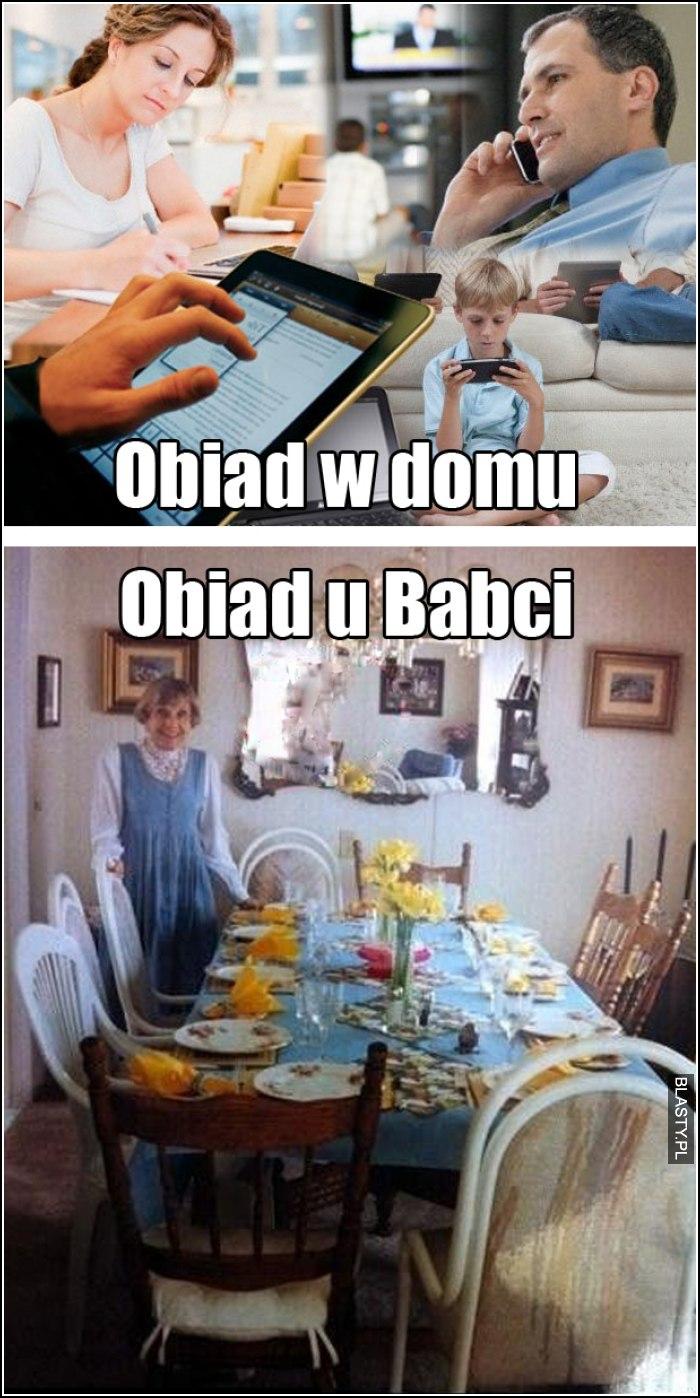 obiad u babci