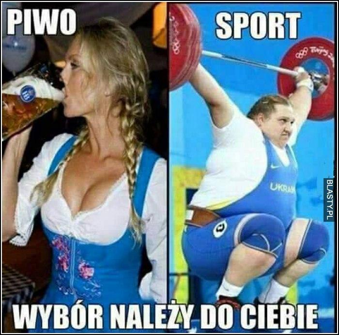 Piwo vs sport