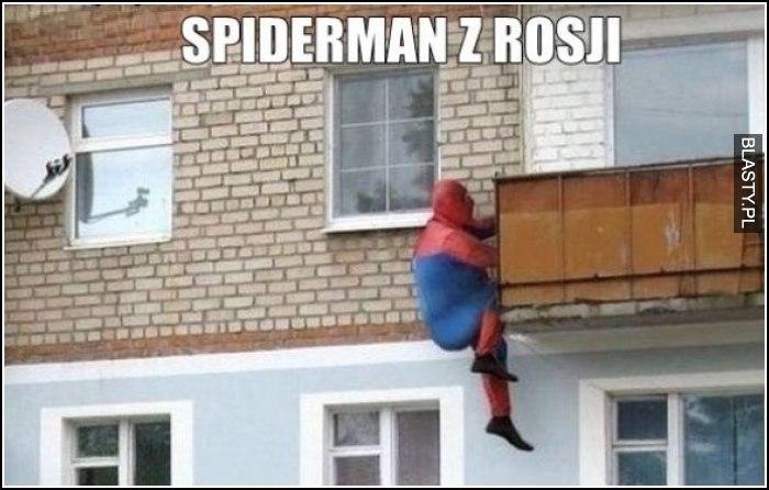 Spider man w rosji