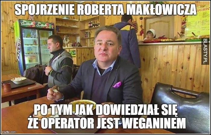 Spojrzenie Roberta Makłowicza