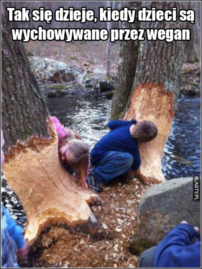 Tak się dzieje, kiedy dzieci są wychowywane przez wegan