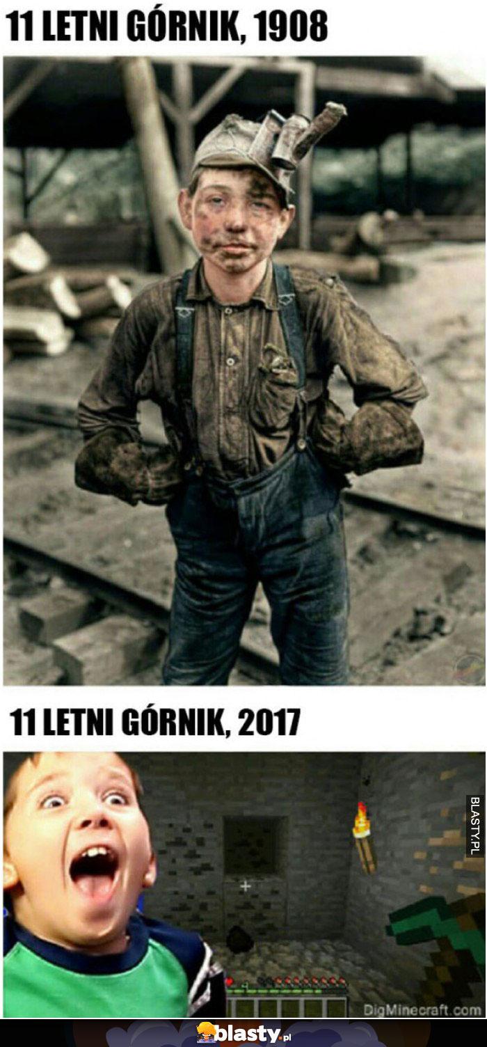 11 letni górnik
