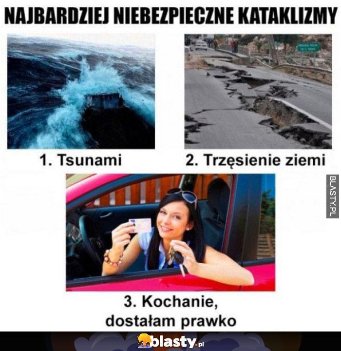3 Najbardziej niebezpieczne kataklizmy