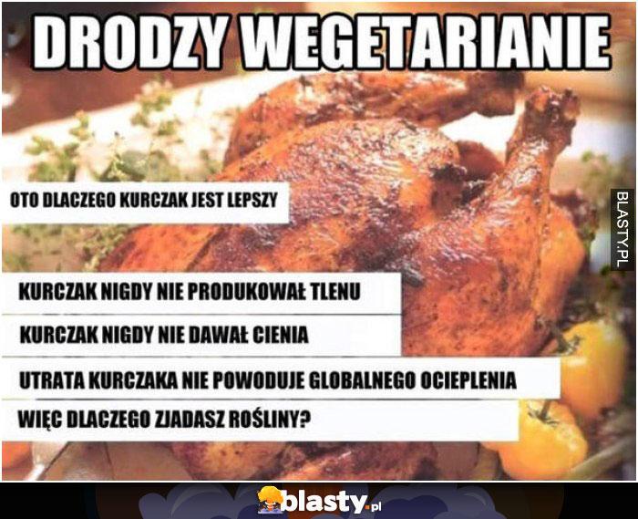 Drodzy wegetarianie