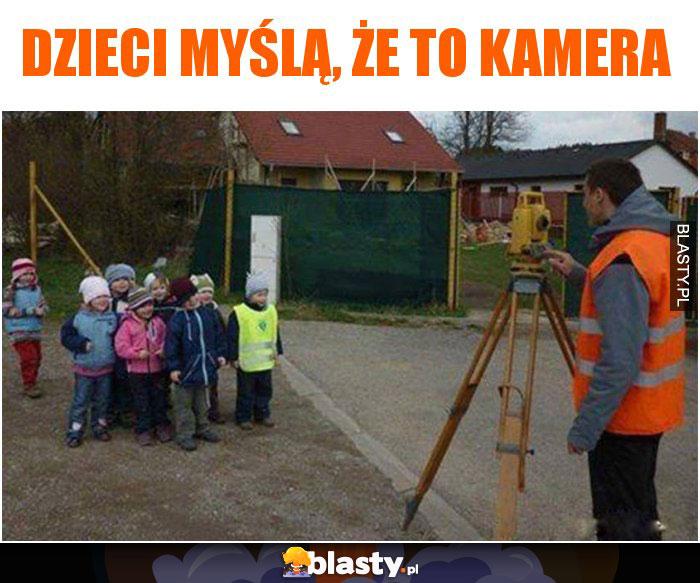 Dzieci myślą, że to kamera
