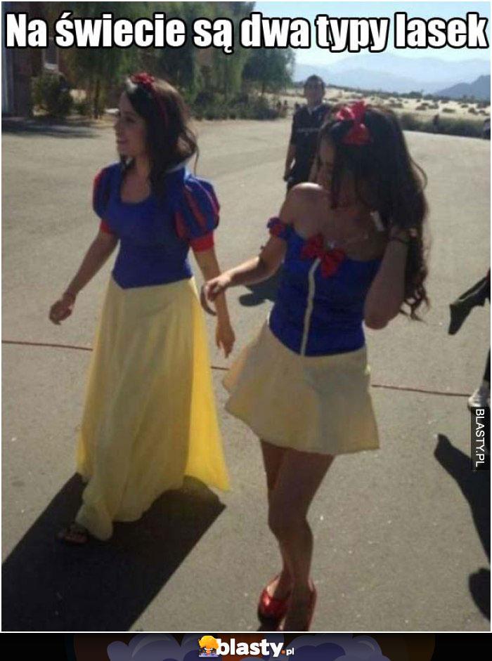 Dziewczyny w długich sukienkach