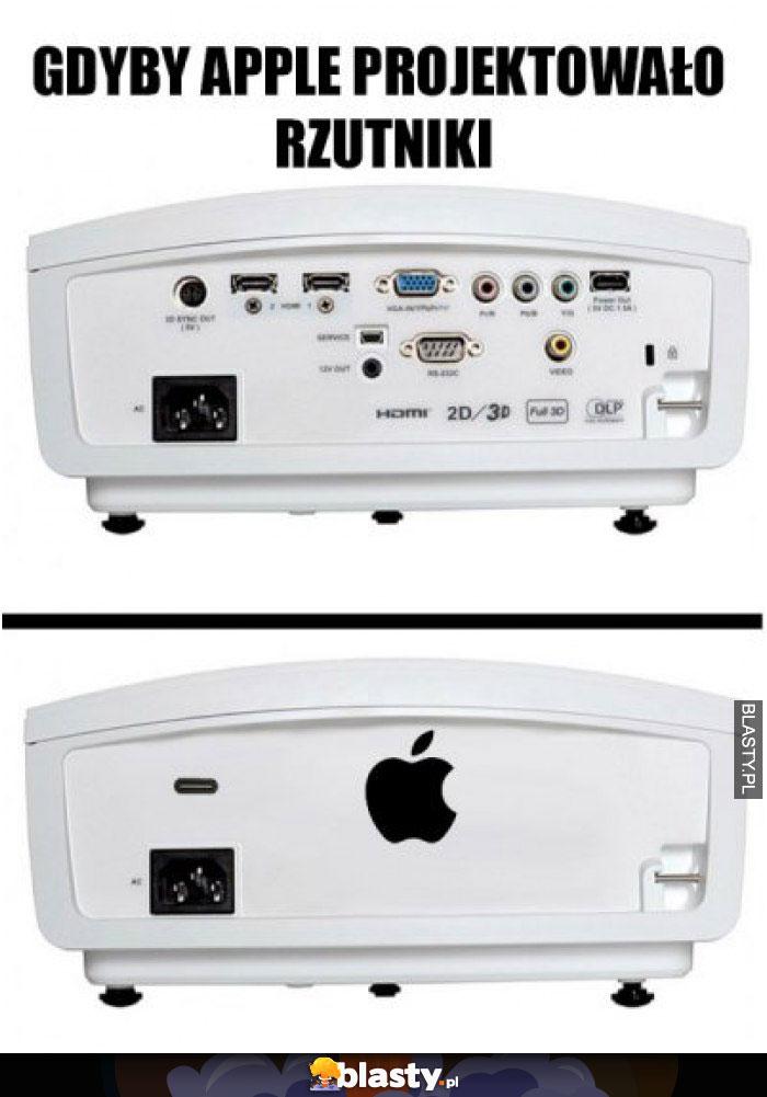 Gdyby apple projektowało rzutniki
