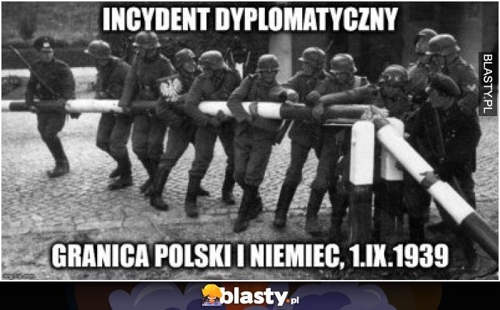 Incydent dyplomatyczny granica polski i niemiec