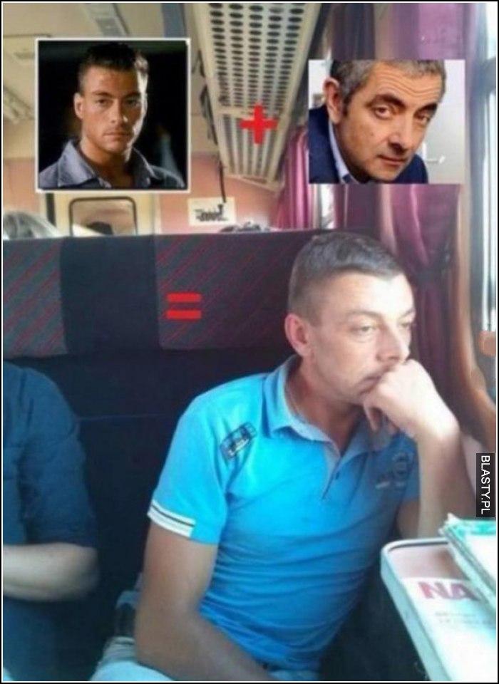 Jaś Fasola w pociągu