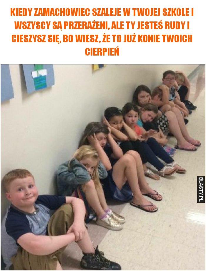 Kiedy zamachowiec szaleje w twojej szkole