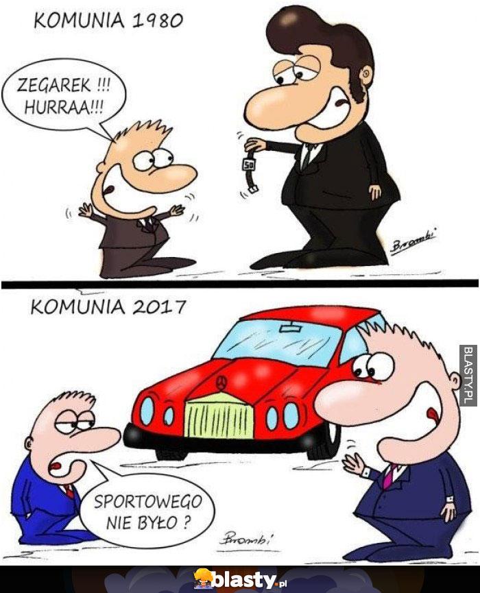 Komunia 1980 vs 2017