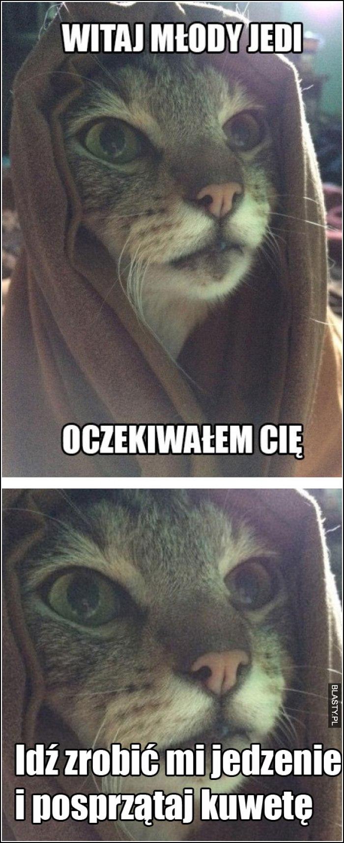 Młody Jedi oczekiwałem cię