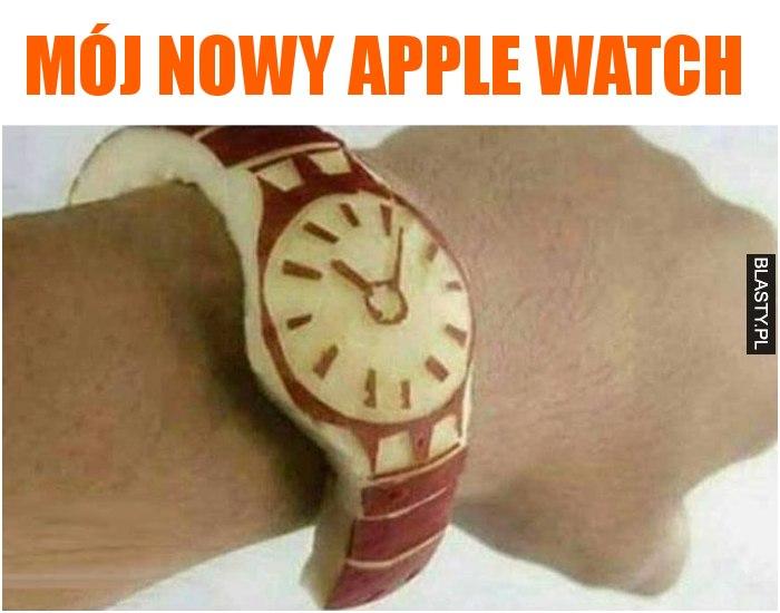 Mój nowy apple watch