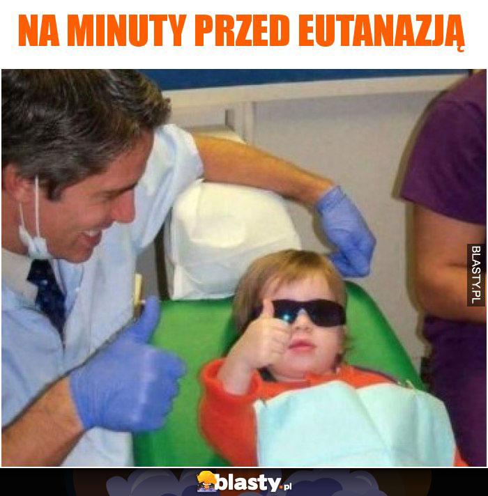 Na minuty przed eutanazją
