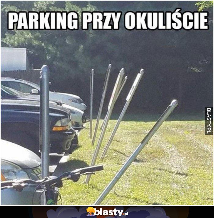 Parking przy okuliście