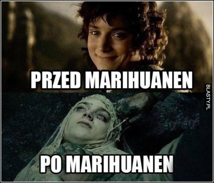 Przed marihuanen vs po marihuanen