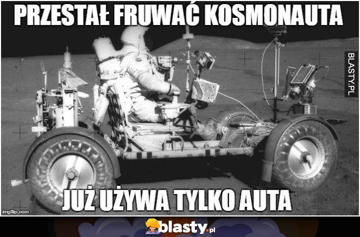 Przestał fruwać kosmonauta