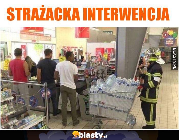 Strażacka interwencja