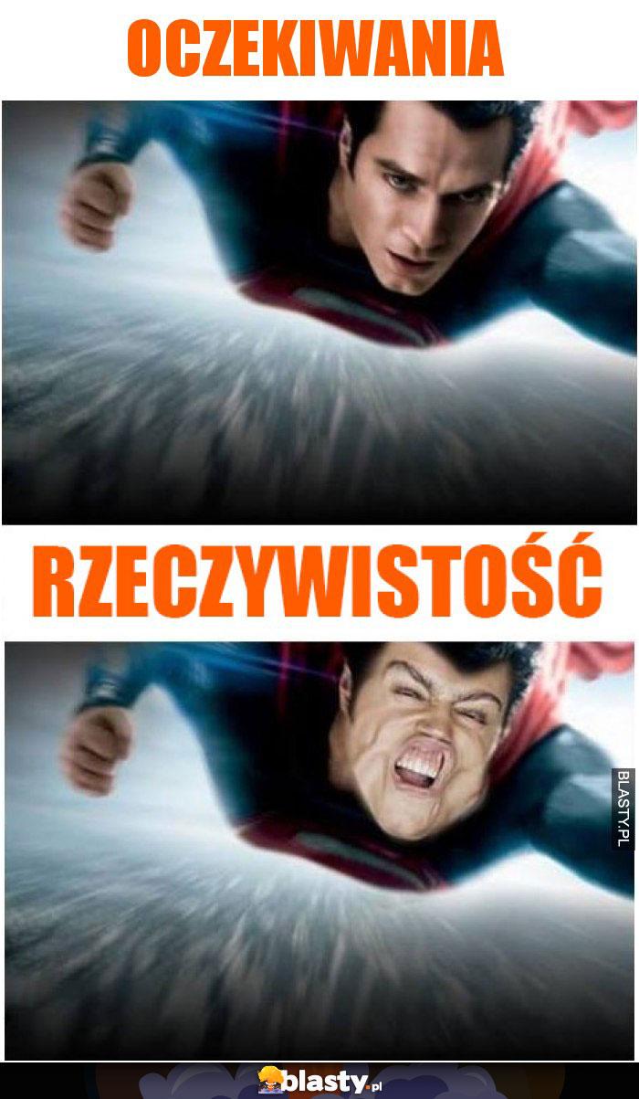 Superman oczekiwania vs rzeczywistość
