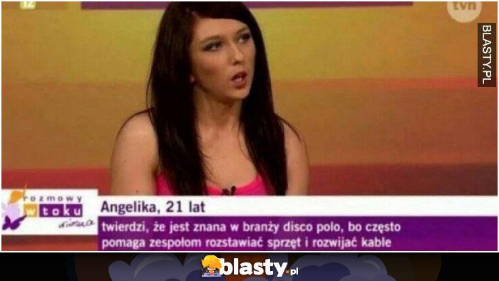 Twierdzi, że jest znana w disco polo