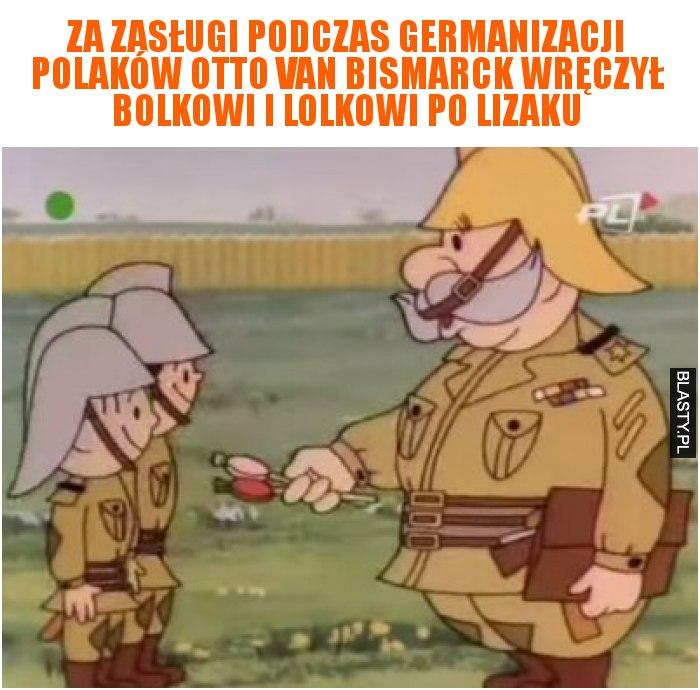 Za zasługi podczas germanizacji Polaków