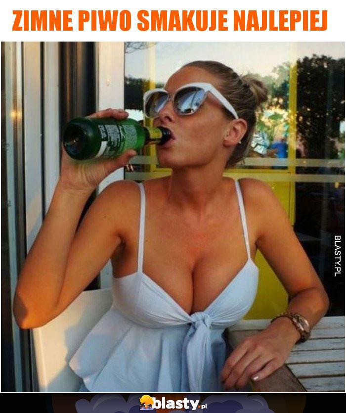 Zimne piwo smakuje najlepiej