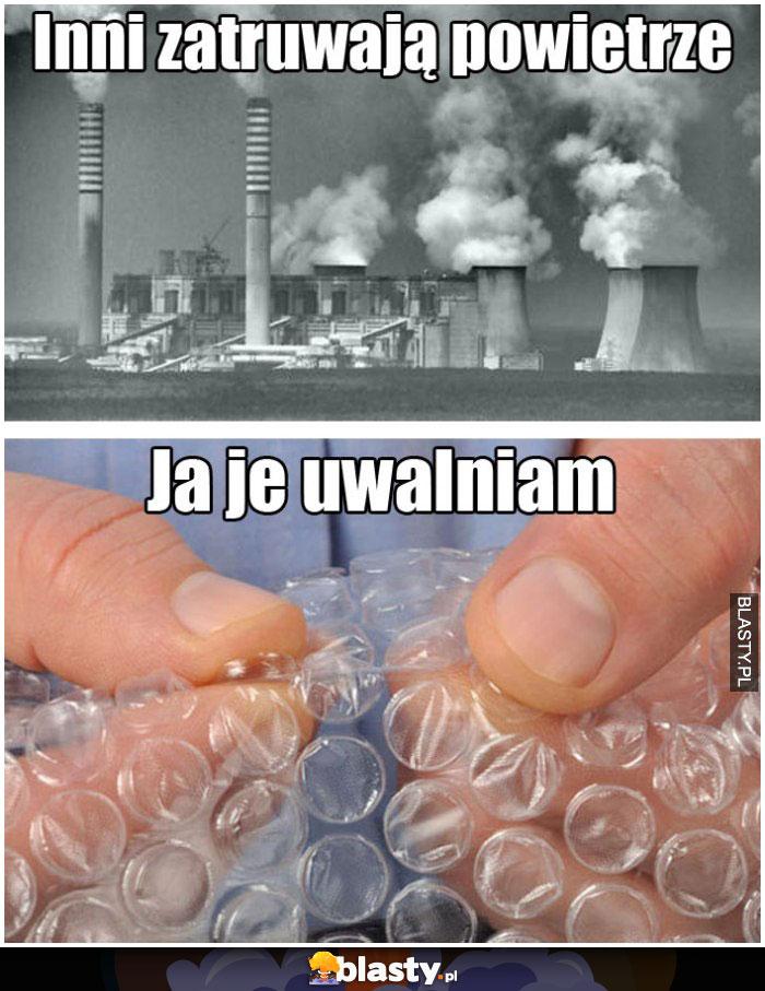 Zły stan powietrza w Krakowie