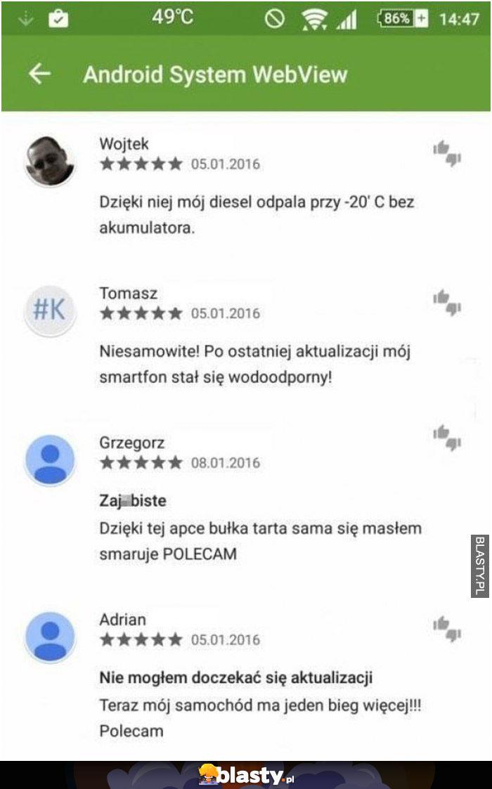 4 mistrzowskie komentarze pod recenzją aplikacji