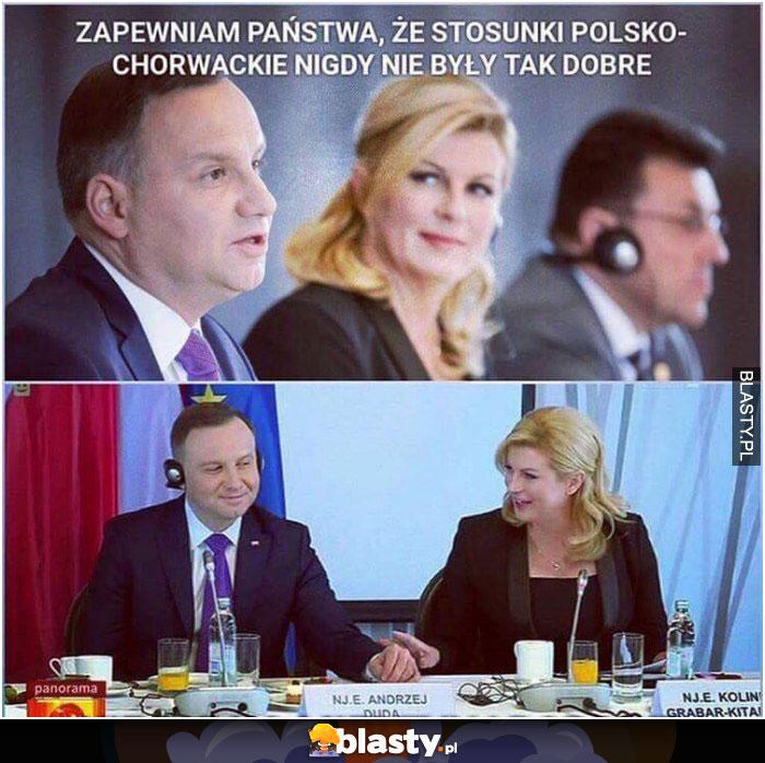 Chorwacja i stosunki z polską