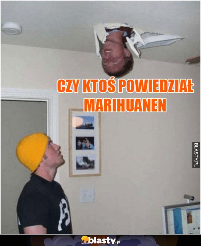 Czy ktoś powiedział marihuanen