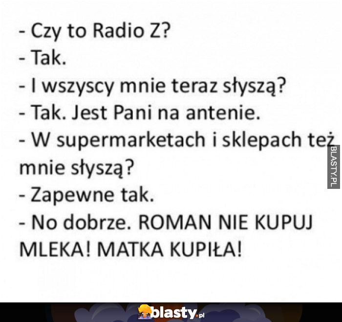 Czy to radio Z ?