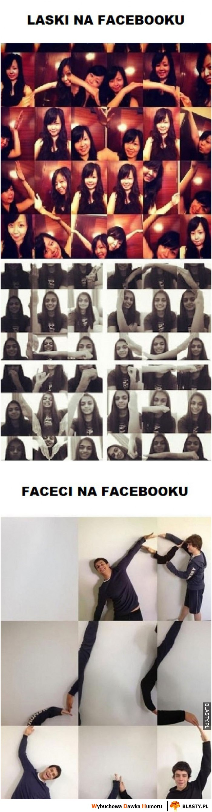 Faceci VS laski