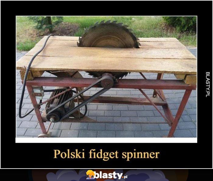 Fidger spinner w polskim wydaniu