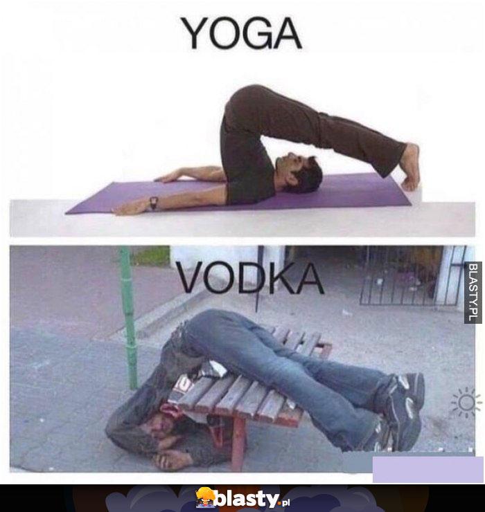 Joga & wódka