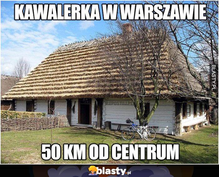 Kawalerka w Warszawie