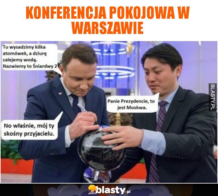 Konferencja pokojowa w Warszawie