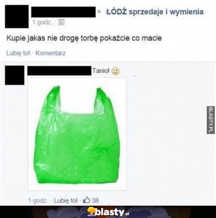 Kupiliście jakąś niedrogą torbę na lato ?
