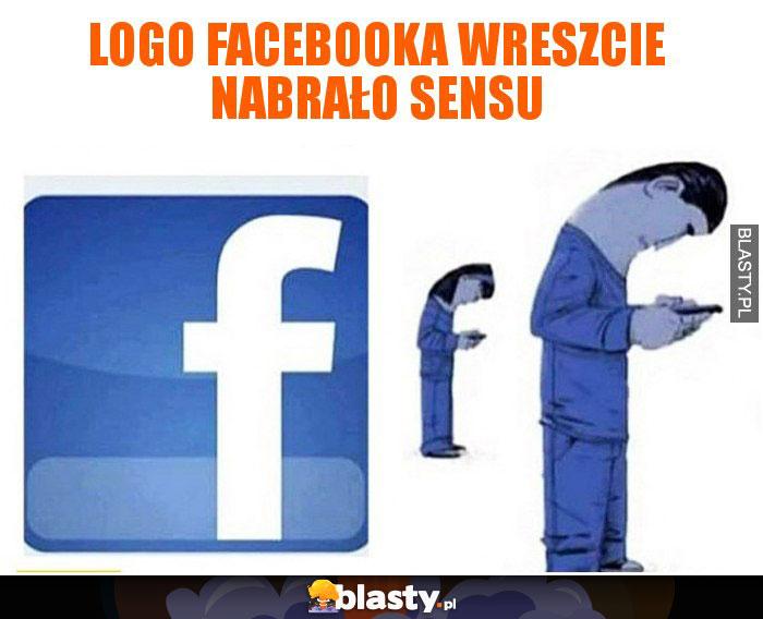 Logo facebooka wreszcie nabrało sensu