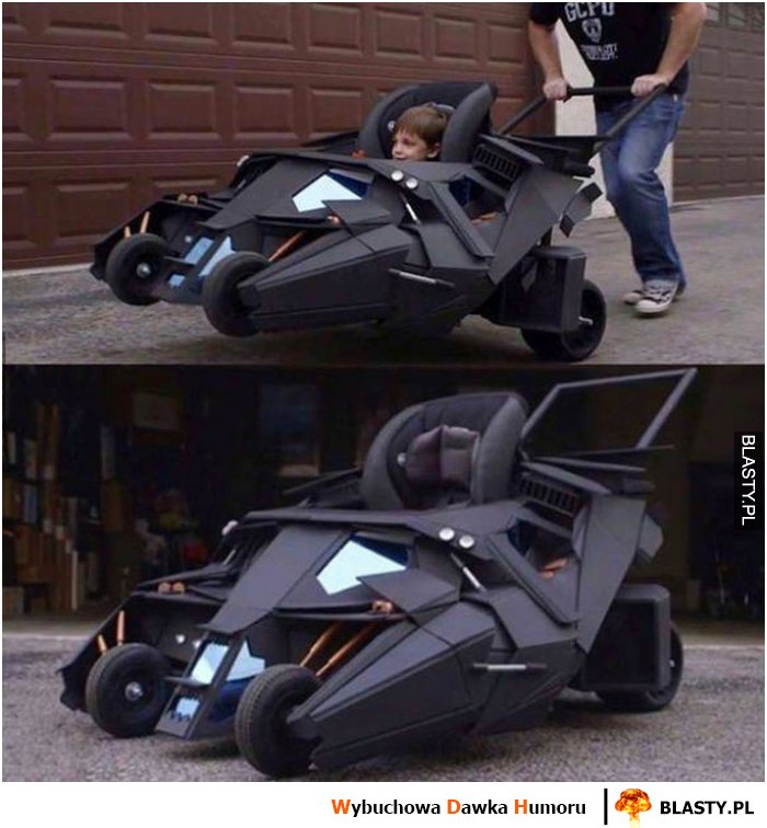 Mini batmobil