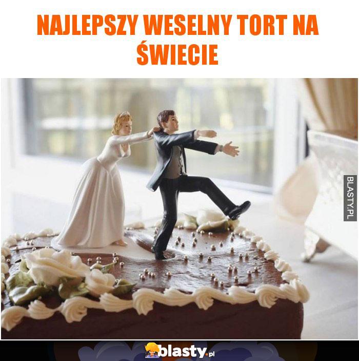 Najlepszy weselny tort na świecie