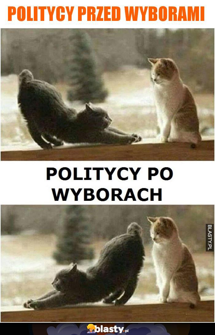 Politycy przed wyborami vs po wyborach