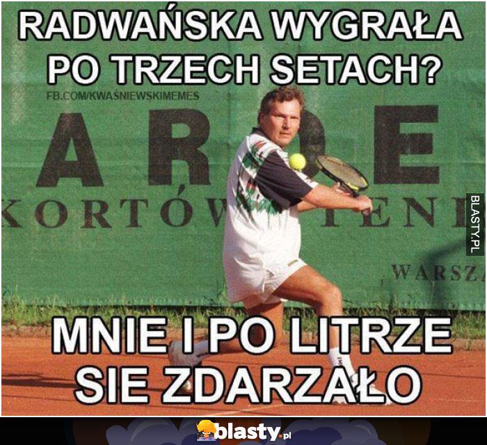 Radwańska wygrała po trzech setach